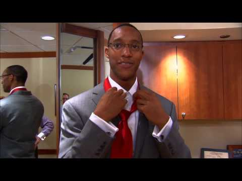 Evan Turner Draft suit