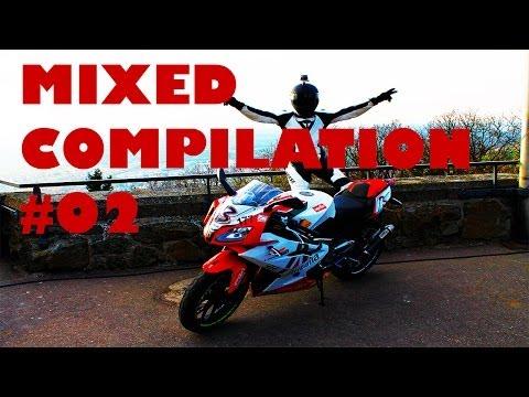 Mixed Compilation #2 | APRILIA RS 125 Alitalia [GoPro] [HD]
