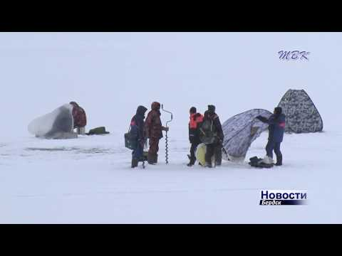 Cпасатели предостерегают – лёд Бердского залива стал опасен!
