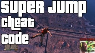 "GTA5 ""Super Jump"" & Moon Gravity Cheat EC"