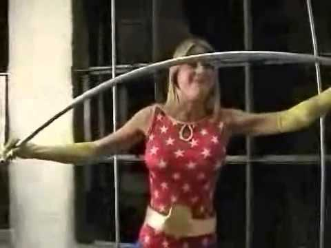 Superheroine strength features