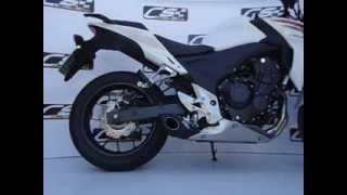 ESCAPAMENTO ESPORTIVO CB500 2013 CS RACING