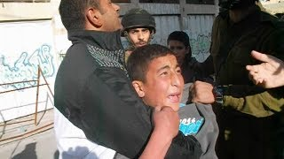 Arrest of Palestinian children in Hebron