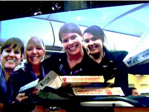 Special delivery: Pilot orders pizza for passengers