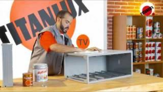 Como pintar con efecto madera