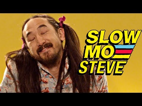 Steve Aoki Gets Punched In The Face - Slow Mo Steve Aoki #6