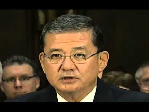 Eric Shinseki opening statements Senate VA hearing