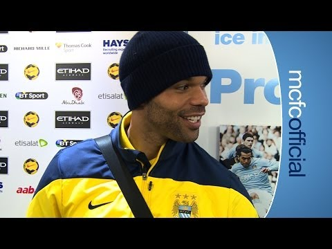 FUNNY LESCOTT INTERRUPTED City v Chelsea FA Cup 5th Joleon Lescott interview