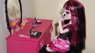 Como Fazer Estojo De Maquiagem Para Boneca Monster High