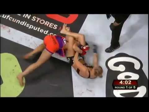 Miesha Tate vs. Ronda Rousey Strikeforce