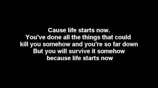 Three Days Grace - Life Starts Now [Lyrics & HQ Audio] view on youtube.com tube online.