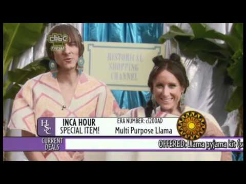 Horrible Histories Inca Shopping Hour