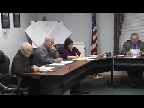 Champlain Town Board Meeting 12-13-11