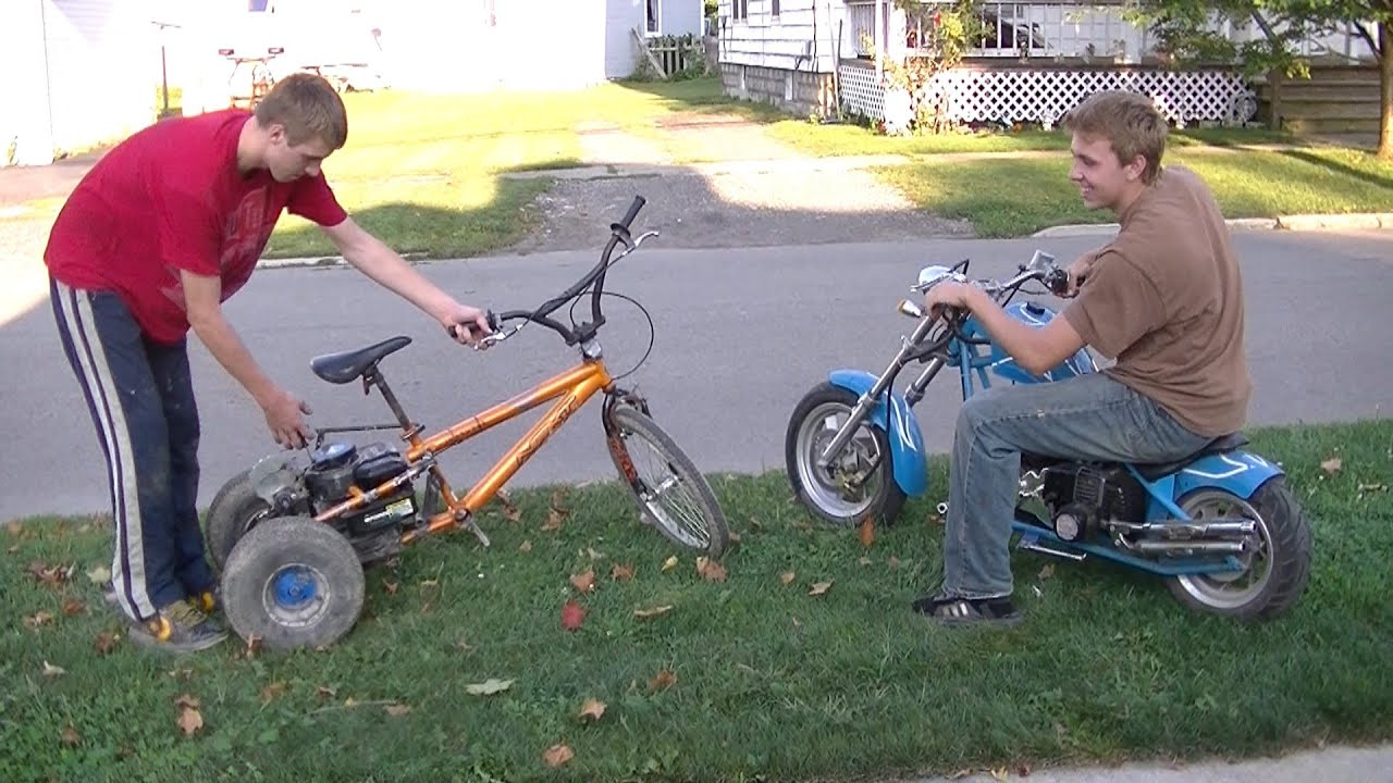 how to build a sidecar for a mini bike