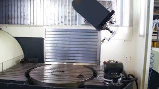Калибровка ОЦ – поворотная голова. Система Etalon LaserTRACER-NG.