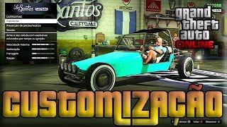 GTA V Online Glitches Como CUSTOMIZAR Carros
