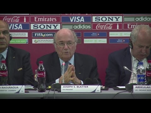 Blatter hints at protecting Club World Cup on international calendar [AMBIENT]