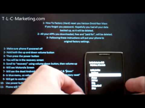 Contact directly reset droid razr maxx to factory settings Gaming