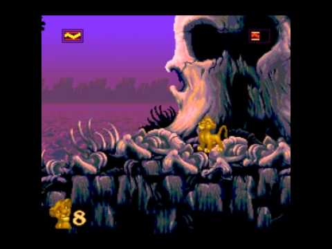 The Lion King - 2014 VGM Comp 2 Entry - Elephant Graveyard - Lion King, The (SNES) - User video
