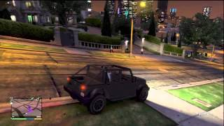 GTA V How To Get Into Michael's House And Start A Fight