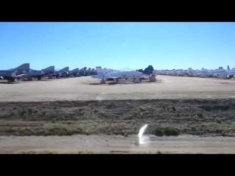 Sức Mạnh Quân Sự Mỹ- xem nghĩa địa máy bay khủng của Mỹ HD