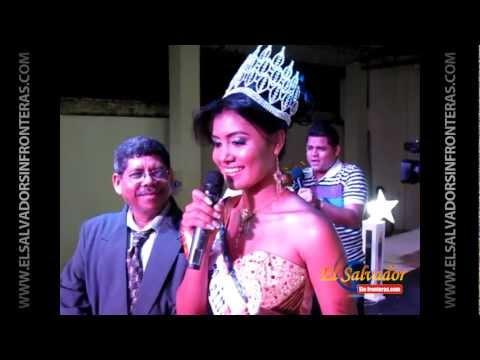 Elección y Coronación Reina de Intipucá 2013