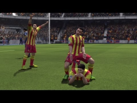 FIFA 14 ► 4 NEW CELEBRATIONS TUTORIAL (PS3, Xbox 360) (Show Respect, Le Cirque LaBelle....)