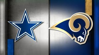 Dallas Cowboys Vs St. Louis Rams WEEK 3 NFL PREVIEW