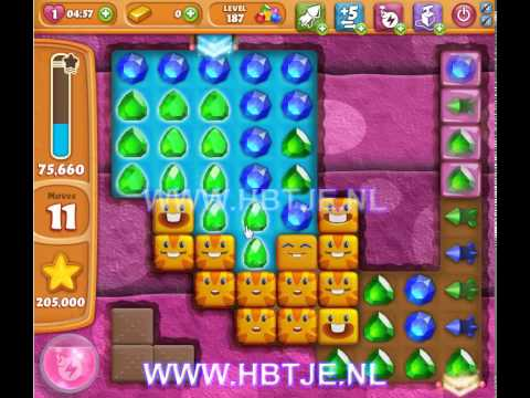 Diamond Digger Saga level 187