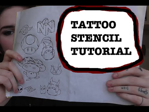 How to make a temporary tattoo at home without tracing for Temporary tattoo tracing paper