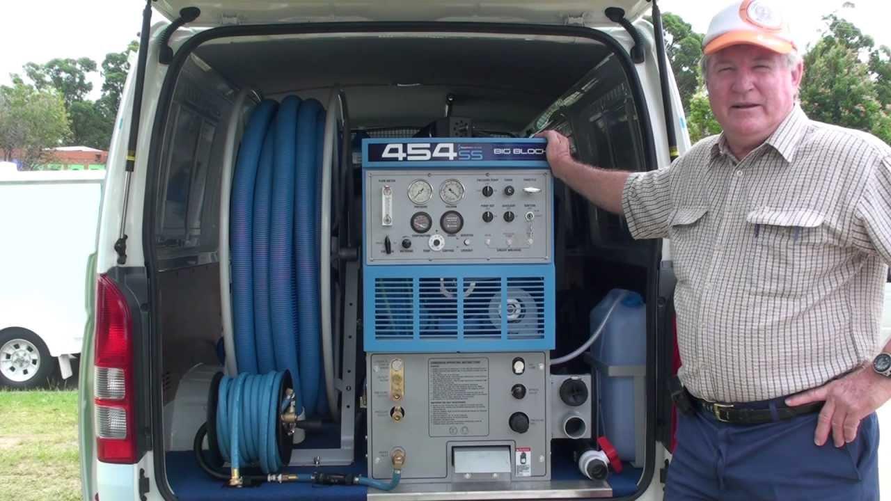 Carpet Cleaning Machine - Sapphire Scientific Truckmount ...
