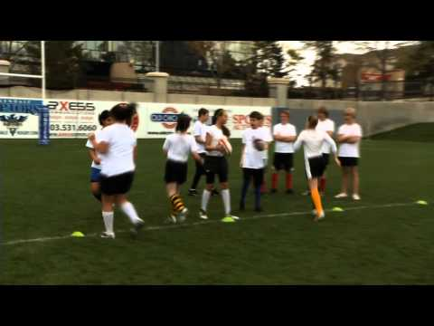Rookie Rugby - Running in Support
