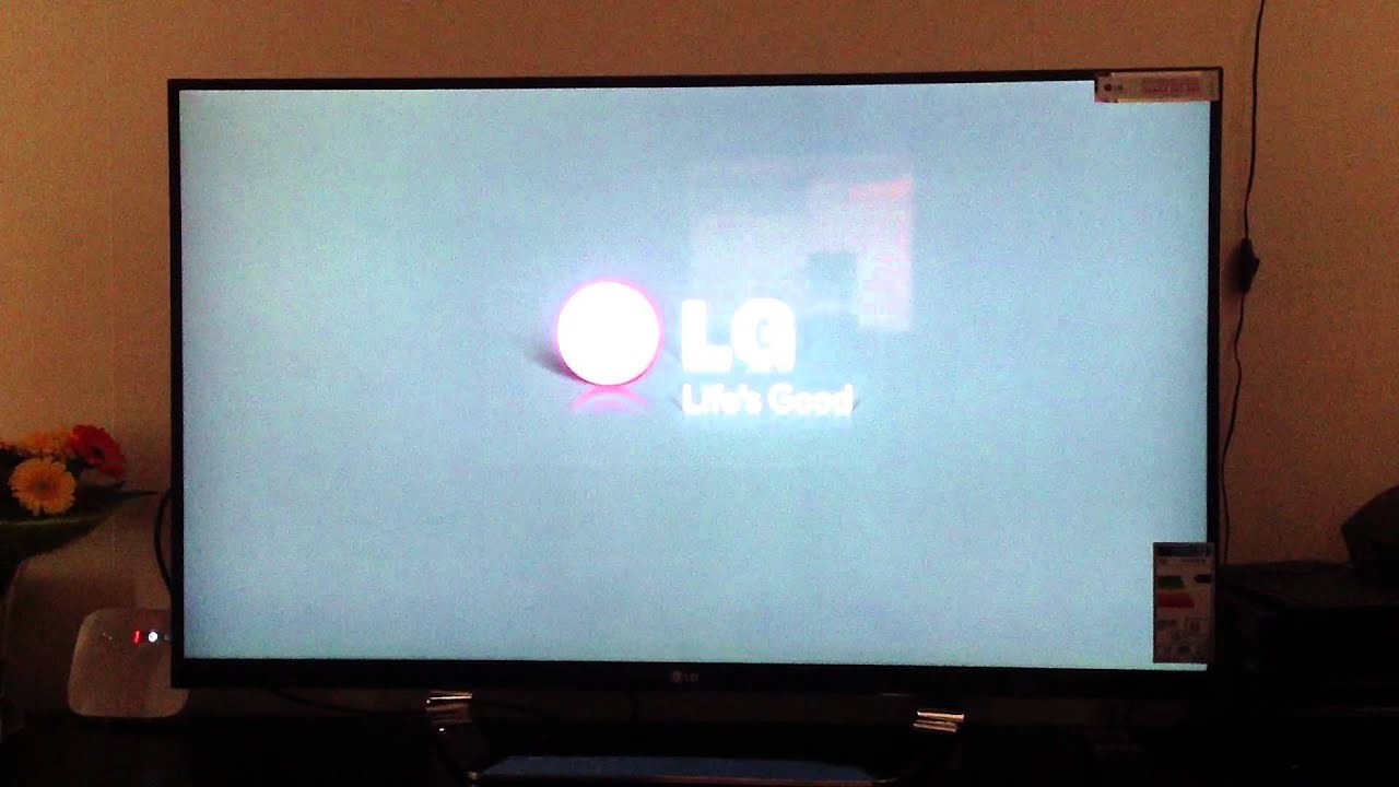 Second Lg 47 Quot Lm760t Led Tv With Backlight Bleed Youtube