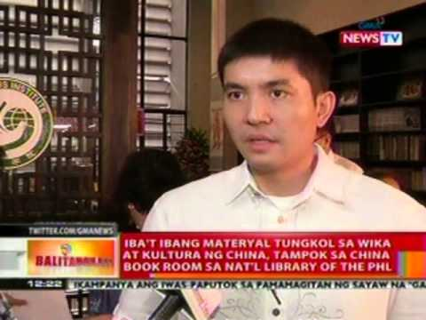 BT: Materyal tungkol sa wika at kultura ng China, tampok sa China Book Room sa Nat'l Library