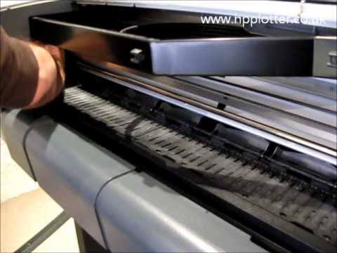 Designjet 510/510PS Series - Replace cutter on your printer