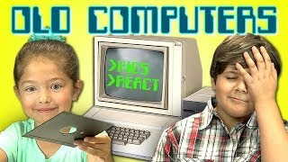 KIDS REACT TO OLD COMPUTERS