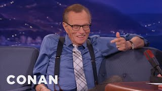 Larry King Demands Conan Freeze His Corpse