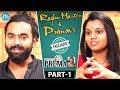 Raghu Master & Pranavi Exclusive Interview : Dialogu..
