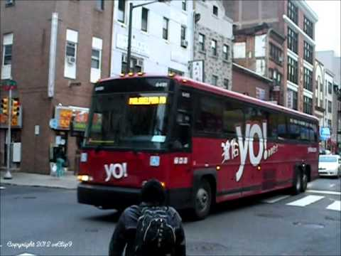 Exclusive: YO! Bus (Greyhound/Peter Pan) 1998-2002 MCI 102-DL3 12/27/2012
