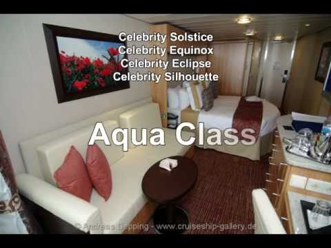 Celebrity Eclipse Aqua Class Review - YouTube