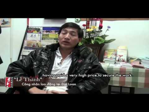 Tình Hình Xuất Khẩu Lao Động Tại Đài Loan (Vietnamese Migrant Workers in Taiwan)
