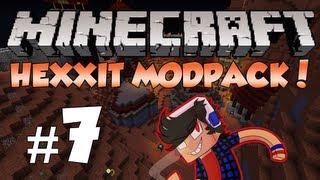 Minecraft: Hexxit! Episode 7 - I'm a Magnet