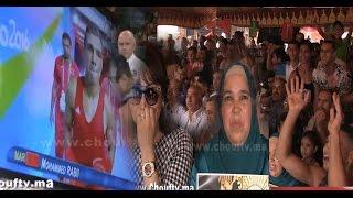أقوى فيديو لتفاعل عائلة ربيعي و جيرانه مع نزاله التاريخي بريو2016   بــووز