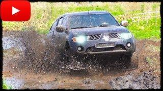 Girls on Jeep Grand Cherokee vs Mitsubishi L200. Полный Привод 4х4 - Офф Роуд Видео.