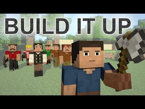 ♪ Build It Up - A Minecraft Parody of Avicii's Wake Me Up