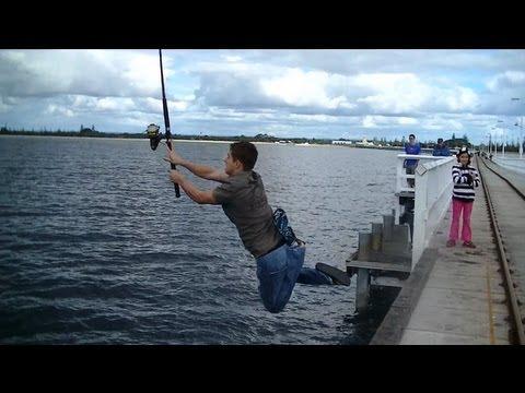 Epic Fishing Fail
