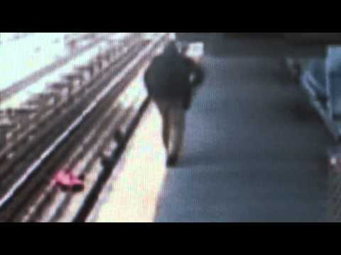 Quick Response Saved Baby on Phila. Train Tracks