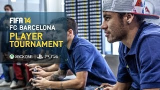 FIFA 14 FC Barcelona Player Tournament Neymar
