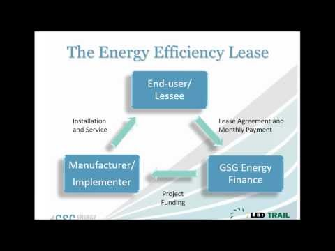 LEASING OPTIONS ILLUSTRATE LED LIGHTING'S OUTSTANDING VALUE - November, 2013 Webinar