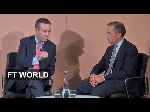 Lionel Barber talks to Mark Carney